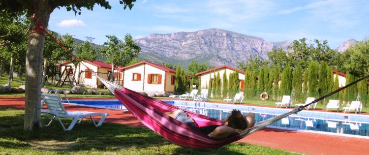 Camping en bungalowpark Isabena