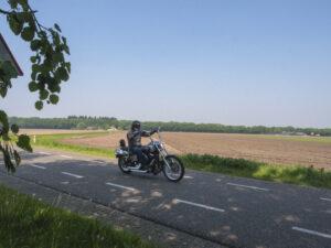 Brabants Landschap Motorrijden