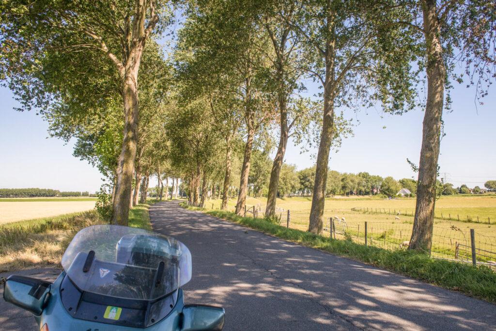 Landwegen rondom Rotterdam