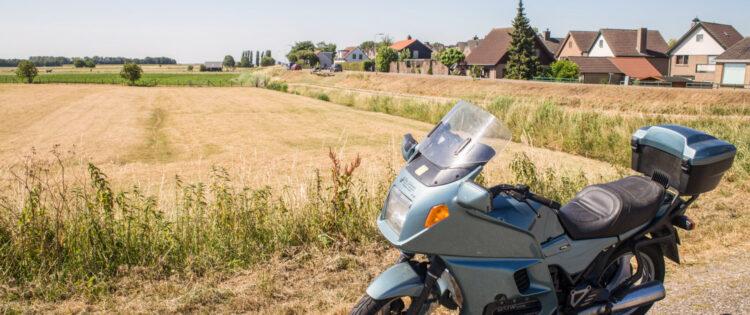 Motorrijden rondom Rotterdam