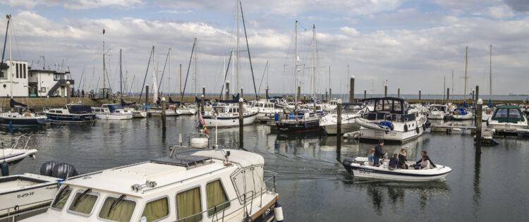 De haven van Yerseke in Zuid-Beverland