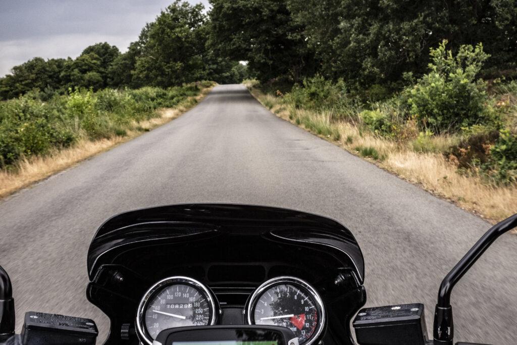 Met de motor over de Sallandse Heuvelrug
