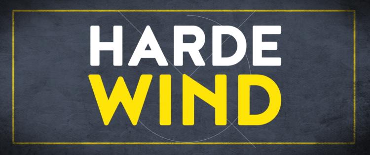 Harde wind