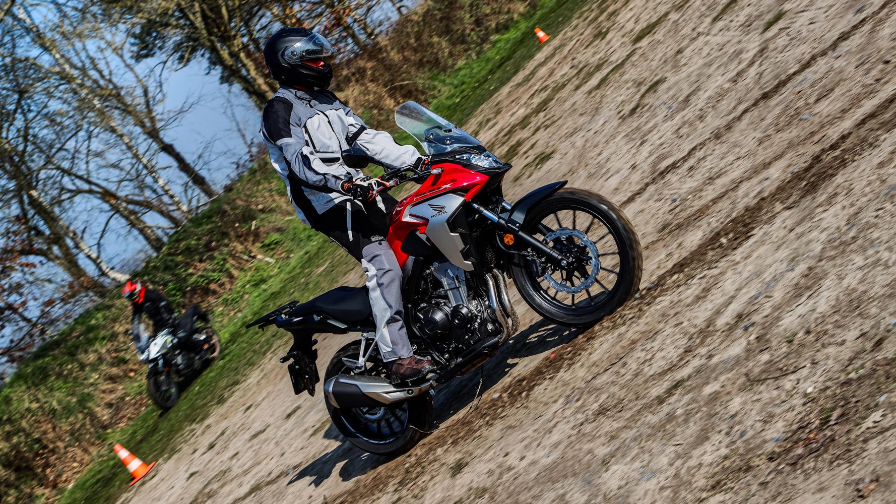 Hondapark Olmen - Balen - CB500x - CB500 x