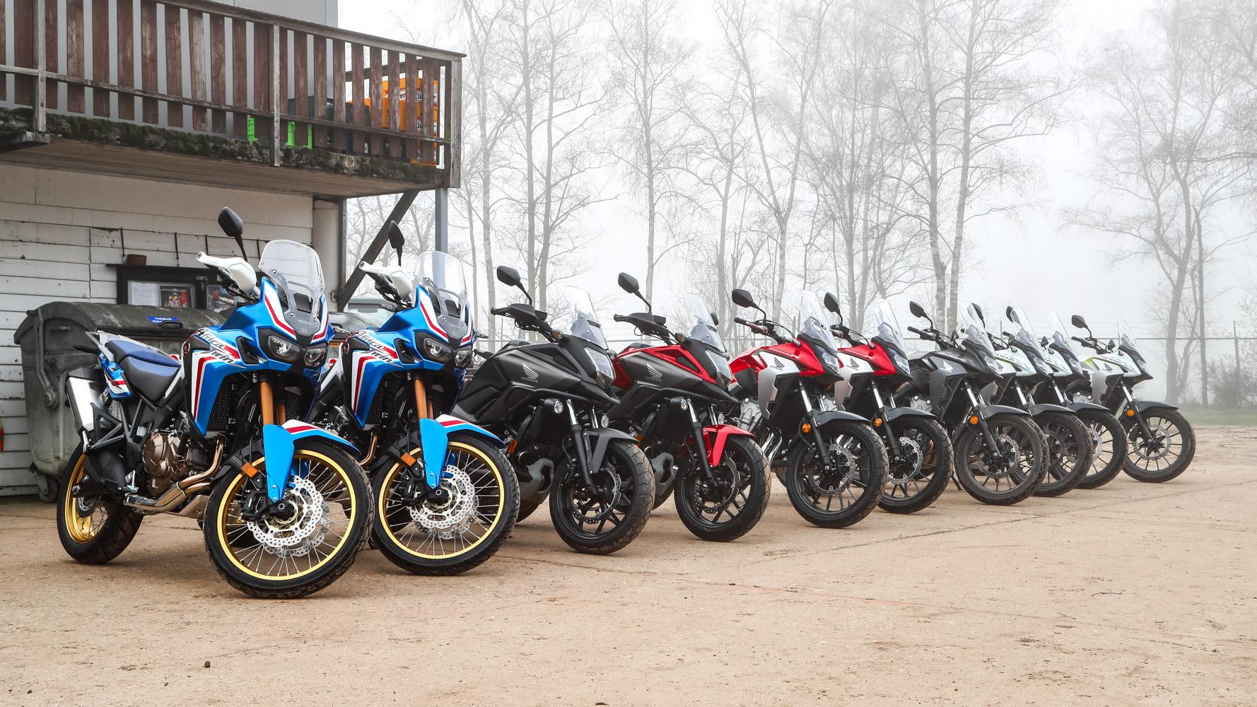 Hondapark Olmen - Balen - CB500x - Line up